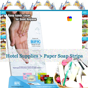 Bufin Paper Soap Hotel Supplies In Sri Lanka